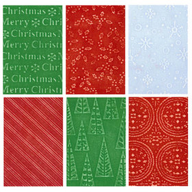 Sizzix - Texturz - Ornament Collection - Christmas - Texture Plates - Kit 13