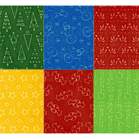 Sizzix - Texturz - Ornament Collection - Christmas - Texture Plates - Kit 14, CLEARANCE