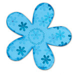 Sizzix - Bigz Clear Die - Transparent Die Cutting Template - Flower, CLEARANCE