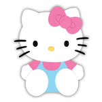 Sizzix - Originals Die - Hello Kitty Collection - Die Cutting Template - Large - Hello Kitty Sitting
