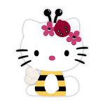 Sizzix - Bigz Die - Hello Kitty Collection - Die Cutting Template - Hello Kitty Bee