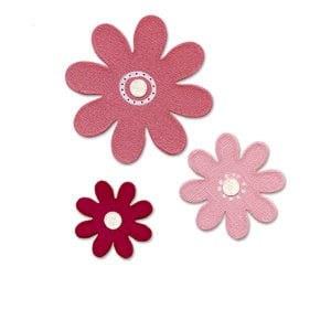Sizzix - Bigz Die - Hello Kitty Collection - Die Cutting Template - Hello Kitty Daisies