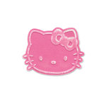 Sizzix - Embosslits Die - Hello Kitty Collection - Die Cutting Template - Hello Kitty Face, CLEARANCE