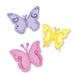 Sizzix - Sizzlits Die - In Bloom Collection - Die Cutting Template - Small - Butterfly Set
