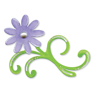 Sizzix - Bigz Die - In Bloom Collection - Die Cutting Template - Floral Flourish