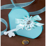 Sizzix - Bigz Die - Designer Boutique Collection - Extra Long Die Cutting Template - Box - Heart and