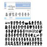 Sizzix - EClips - Electronic Shape Cutting System - Cartridge - Dress Ups