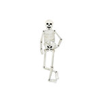 Sizzix - Bigz Die - Halloween Collection - Die Cutting Template - Skeleton, Movable