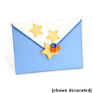 Sizzix - Bigz Die - Extra Long Die Cutting Template - Envelope, A2 Number 2