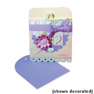 Sizzix - Bigz Die - Extra Long Die Cutting Template - Pocket Envelope