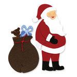 Sizzix - Sizzlits Die - Christmas - Die Cutting Template - Medium - Santa Set