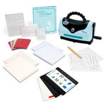 Sizzix - Texture Boutique Embossing Machine and 91 Piece Beginners Kit