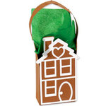 Sizzix - Bigz Die - Christmas Collection - Extra Long Die Cutting Template - Bag - Gingerbread House