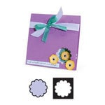 Sizzix - Movers and Shapers Die - Die Cutting Template - Scallop Circle Number 2