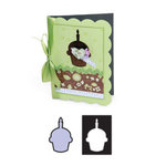 Sizzix - Movers and Shapers Die - Die Cutting Template - Cupcake, CLEARANCE