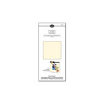 Sizzix - Little Sizzles - 6 x 13 Mat Board Pack, 6 Cream Sheets