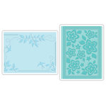 Sizzix - Textured Impressions - Embossing Folders - Birds, Flowers and Branches Set