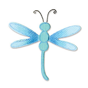 Sizzix - Sizzlits Die - Small - Dragonfly 3
