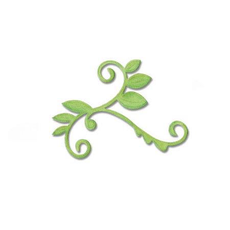 Sizzix - Bigz Die - Die Cutting Template - Vine with Leaves