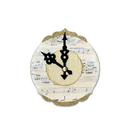 Sizzix - Bigz Die - Ornate and Hands Clock