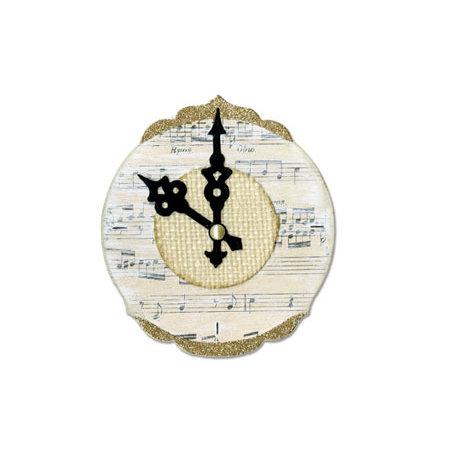 Sizzix - Bigz Die - Clock, Ornate and Hands
