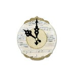 Sizzix - Bigz Die - Die Cutting Template - Clock, Ornate and Hands