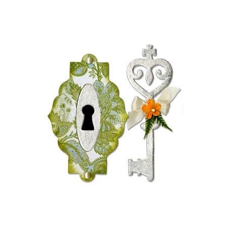 Sizzix - Bigz Die - Key and Keyhole