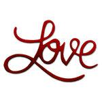 Sizzix - Originals Die - Die Cutting Template - Medium - Phrase, Love