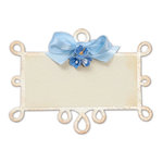 Sizzix - Bigz Die - Die Cutting Template - Frame Back, Ornate Number 6