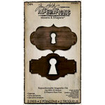Sizzix - Tim Holtz - Movers and Shapers Die - Alterations Collection - Die Cutting Template - Keyholes