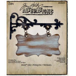 Sizzix - Tim Holtz - Bigz Die - Alterations Collection - Die Cutting Template - Hanging Sign
