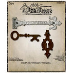 Sizzix - Tim Holtz - Bigz Die - Alterations Collection - Die Cutting Template - Hardware Findings