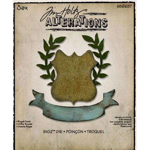 Sizzix - Tim Holtz - Alterations Collection - Bigz Die - Regal Crest