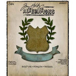 Sizzix - Tim Holtz - Alterations Collection - Bigz Die - Regal Crest