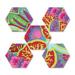Sizzix - Quilting by Design - Bigz Die - Die Cutting Template - 2 Inch Hexagons Number 2