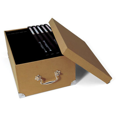 Sizzix - Accessory - Extra Large Storage Box - Tan