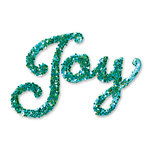 Sizzix - Originals Die - Christmas Collection - Die Cutting Template - Phrase, Joy