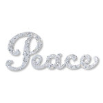 Sizzix - Originals Die - Christmas Collection - Die Cutting Template - Phrase, Peace