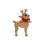 Sizzix - Originals Die - Christmas Collection - Die Cutting Template - Reindeer 2