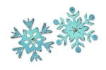 Sizzix - Originals Die - Christmas Collection - Die Cutting Template - Snowflakes 3