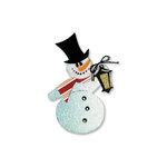 Sizzix - Originals Die - Christmas Collection - Die Cutting Template - Snowman 3