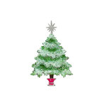 Sizzix - Bigz Die - Christmas Collection - Die Cutting Template - Tree, Christmas with Star and Stand