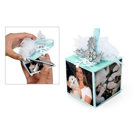 Sizzix - Christmas Collection - Bigz XL Die - 3-D Pop Up - Cube, Twist