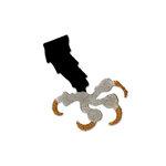 Sizzix - Originals Die - Halloween Collection - Die Cutting Template - Medium - Bird Claw