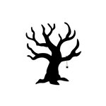 Sizzix - Bigz Die - Halloween Collection - Die Cutting Template - Tree, Scary