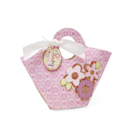 Sizzix - Bigz Pro Die - Bag, Purse with Flower Cut-Out