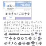 Sizzix - EClips - Electronic Shape Cutting System - Cartridge - Happi Shapes and Alphabet