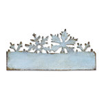 Sizzix - Tim Holtz - On the Edge Die - Alterations Collection - Die Cutting Template - Snow Flurries