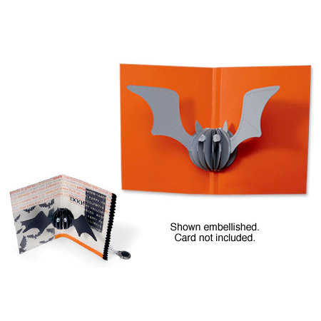 Sizzix - Halloween Collection - Bigz Die - 3-D Pop Up - Bat