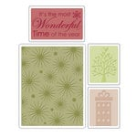 Sizzix - Textured Impressions - Embossing Folders - Starry Night Set